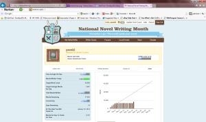 Sad but true...average of 722 words per day.
